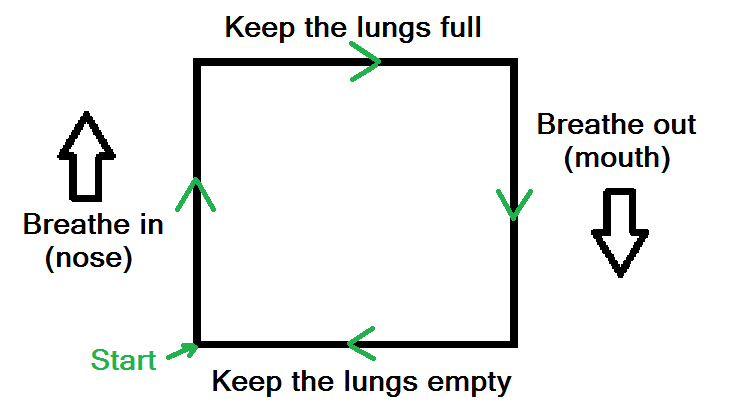 breath before a conversation