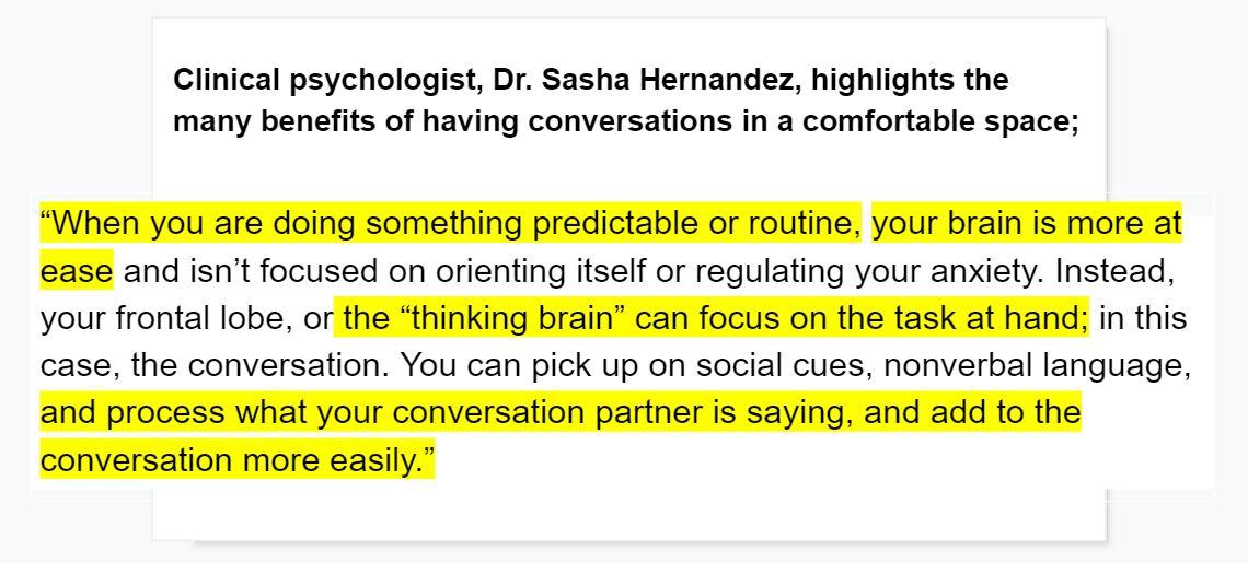 have better conversations